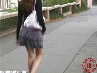 Чешские пикаперыебут девок на улице