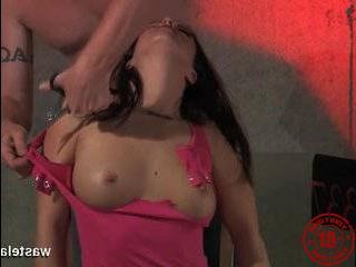 Пикаперы довели девку до оргазма